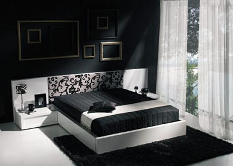 Ubicar cama en habitación cuadrada