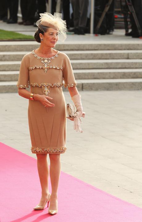 CAROLINA de MÓNACO. TOP 5. Las mejor vestidas de la realeza.
