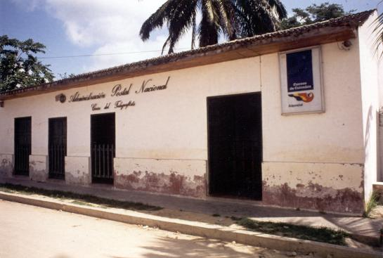 Casa donde nace Gabriel García Márquez en 1927 en Aracataca, pequeño pueblo bananero del departamento de Magdalena (Colombia).