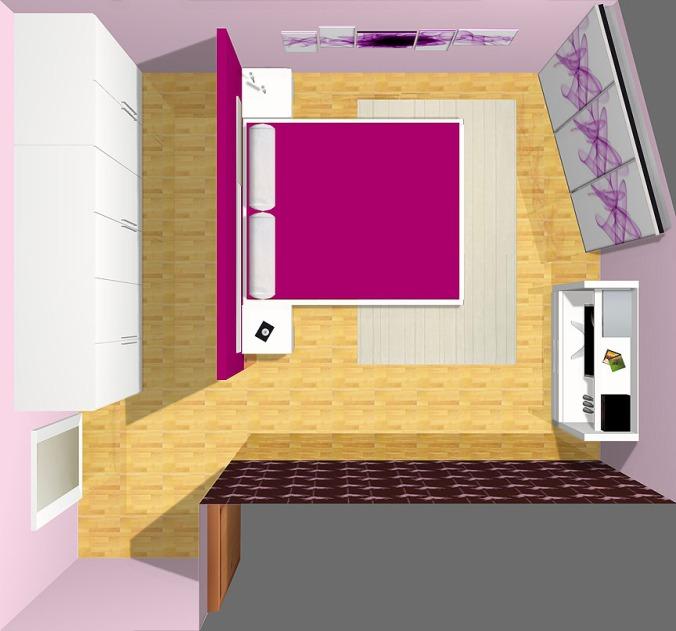 Como ubicar la cama en dormitorios pequeños