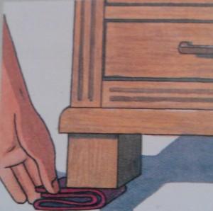 2. Colocar el calce