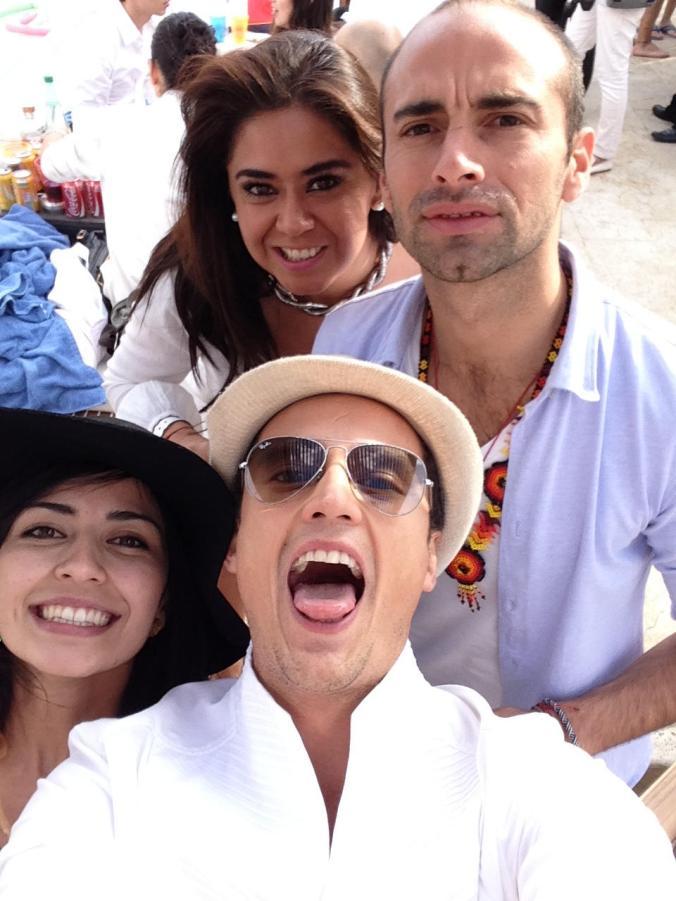 White Pool Party. French Tuesdays Mexico. Hotel Hilton Samara (Santa Fe)