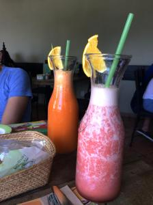 Natural juices. 100% Natural restaurant