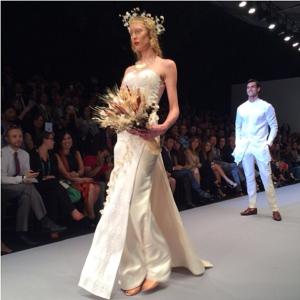 Lydia Lavín. MB Fashion Week O/I 2014