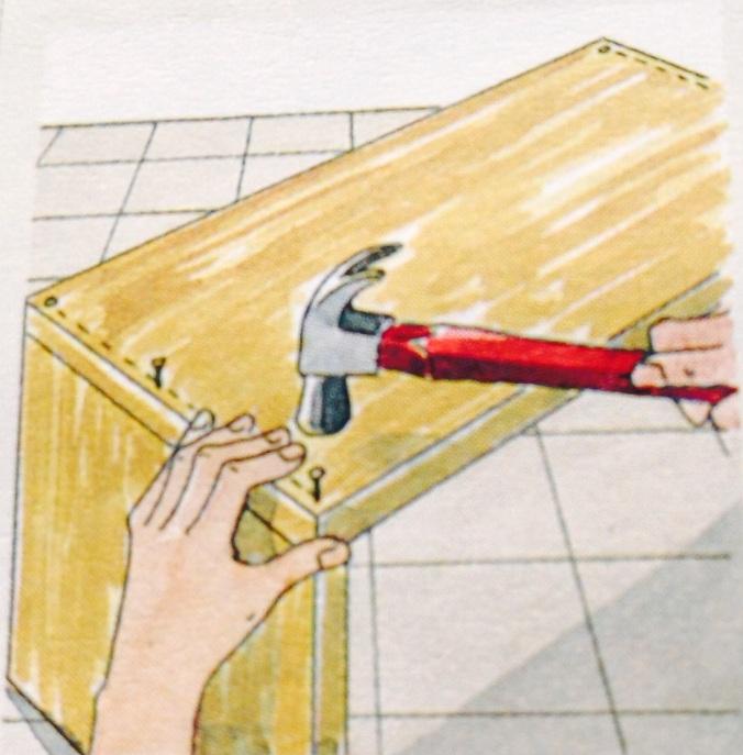 Como hacer un cajón para debajo de la cama. Paso 2