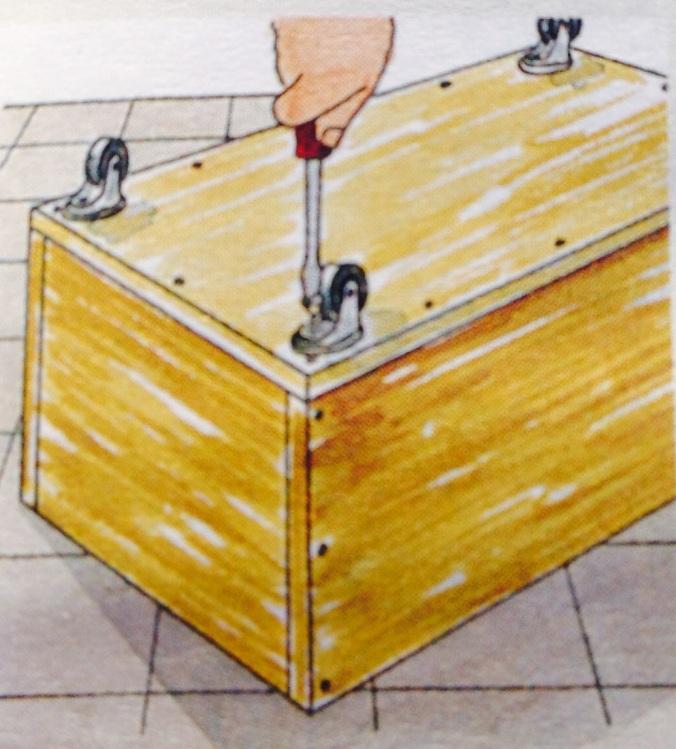 Como hacer un cajón para debajo de la cama. Paso 5