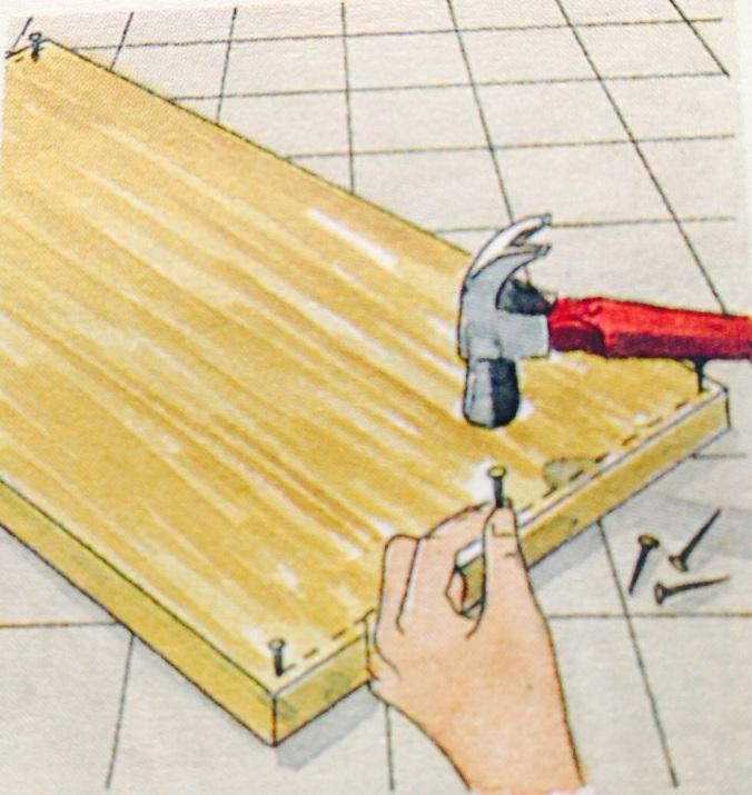 Como hacer un cajón para debajo de la cama. Paso 1