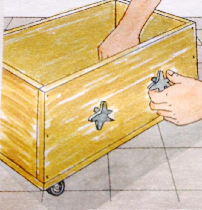 Como hacer un cajón para debajo de la cama. Paso 7