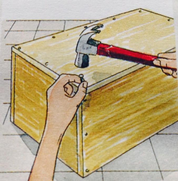 Como hacer un cajón para debajo de la cama. Paso 4