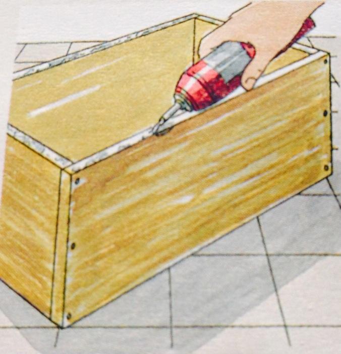 Como hacer un cajón para debajo de la cama. Paso 3