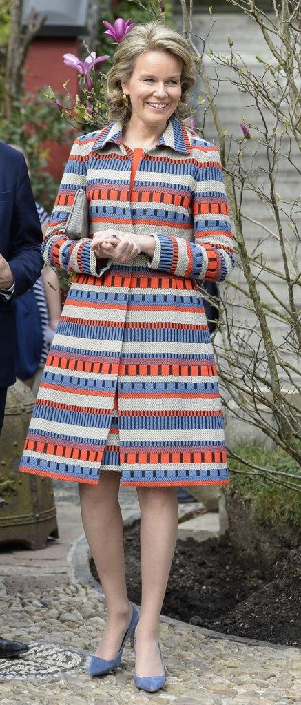 MATILDE de BÉLGICA. TOP 5. Las mejor vestidas de la realeza.