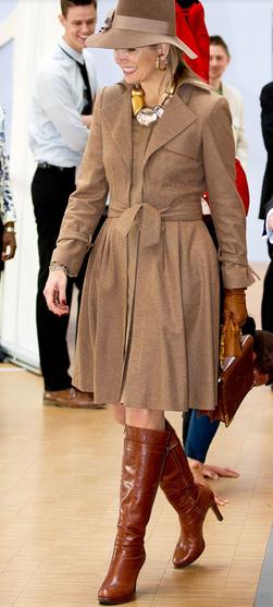 MÁXIMA de HOLANDA. TOP 5. Las mejor vestidas de la realeza.