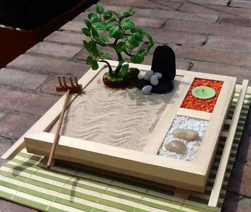 Jardines zen cool anarchy for Jardin zen miniature casa