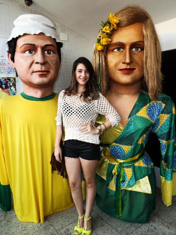 Look do dia. Recife - Pe (Brasil).