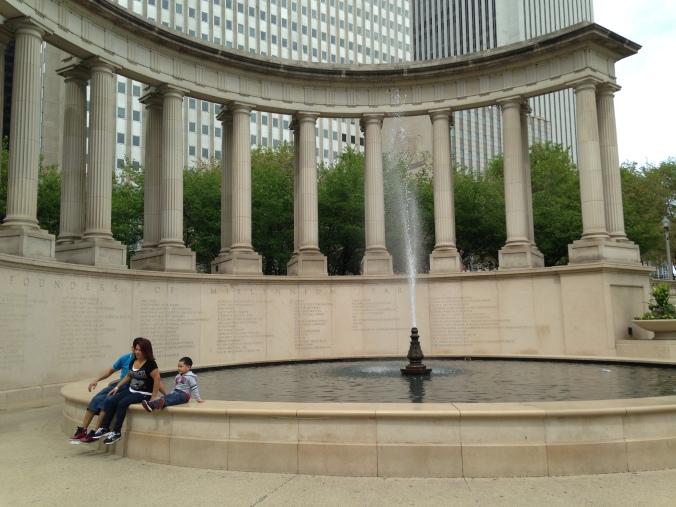 Crown Fountain of Jaume Plensa - Millenium Park Chicago