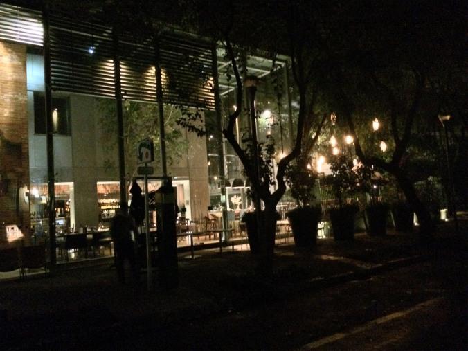Restaurante Colomba. México DF