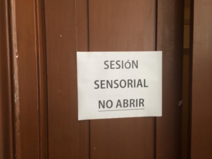 Sesión sensorial. Brother Fashion Space 2014