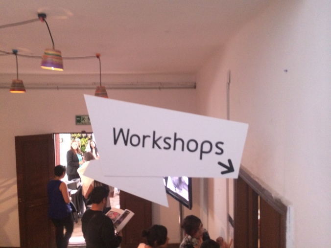 Workshops. Brother Fashion Space 2014 by Jannette Klein