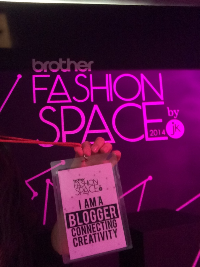 Brother Fashion Space by Jannette Klein 2014