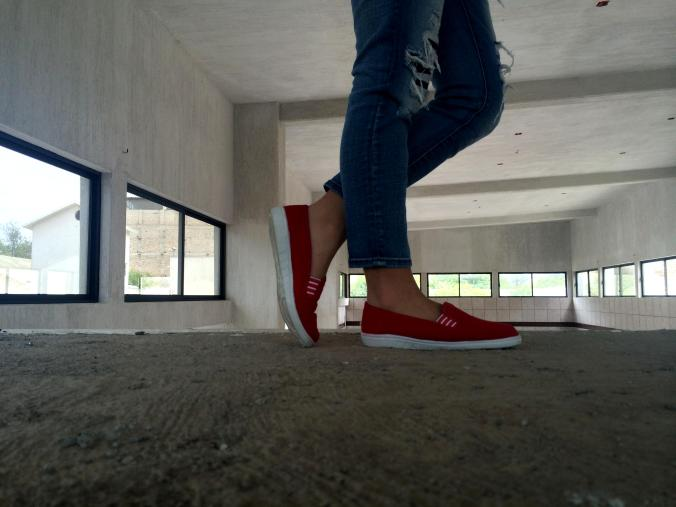My new red shoes from Mirage. Exclusive: www.jaststyle.com