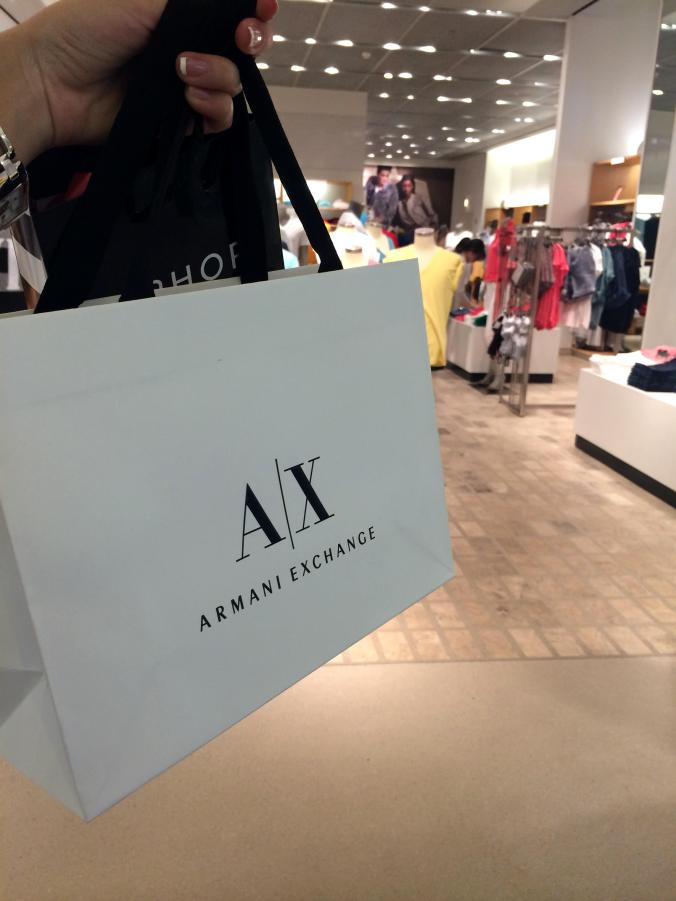 Armani Exchange (Nordstrom Mall Chicago) - Magnificent Mile