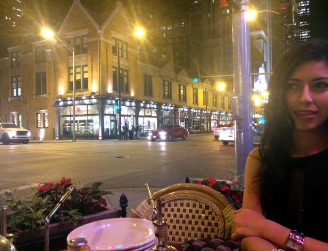 Terrace. Quartino, iItalian restaurant on Chicago N State.