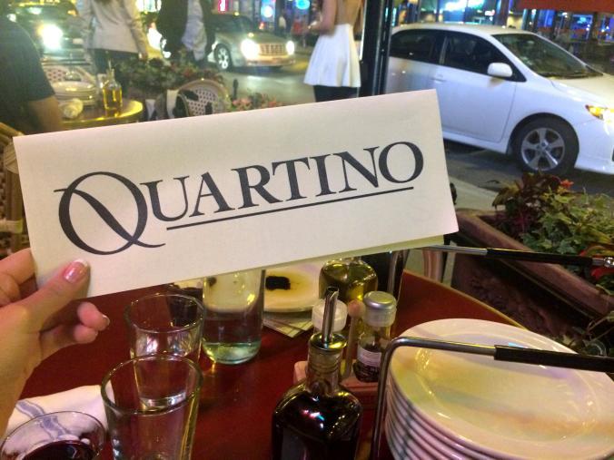 Quartino, iItalian restaurant in Chicago N State, downtown