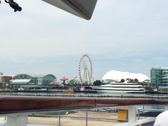 Ferris Wheel. Navy Pier - Chicago