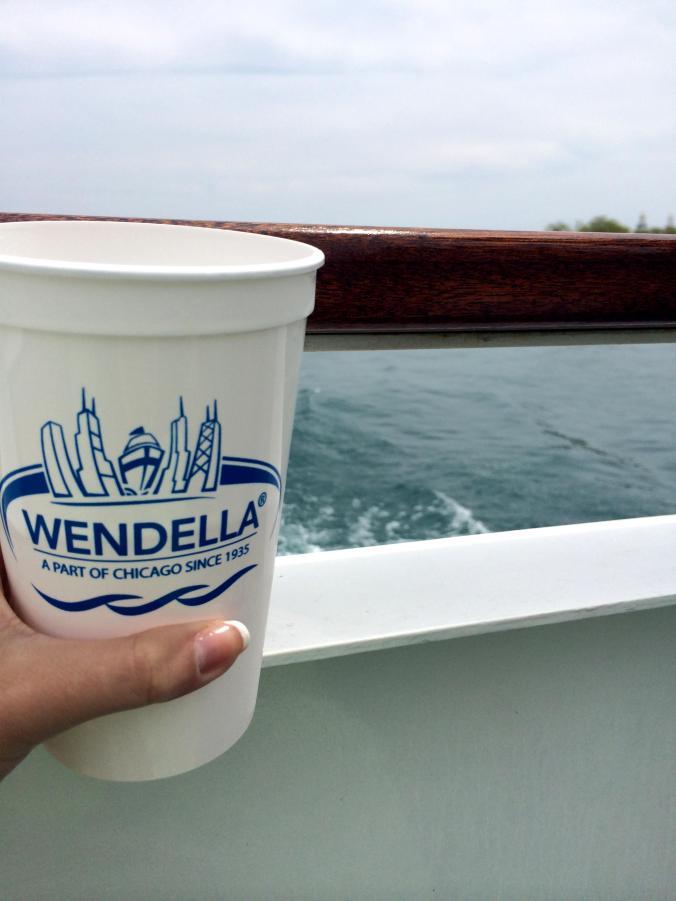 Wendella Boat. Chicago River and Michigan Lake tour.