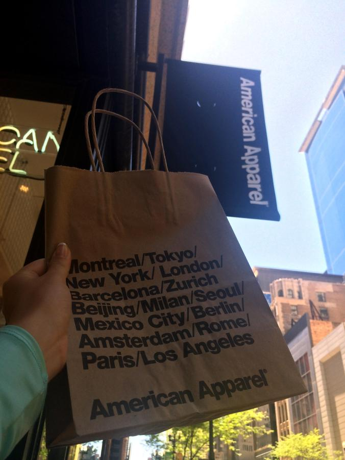 American Apparel (39 S State Street) - Chicago