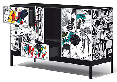 Muebles y accesorios del estilo pop cool anarchy - Muebles pop art ...