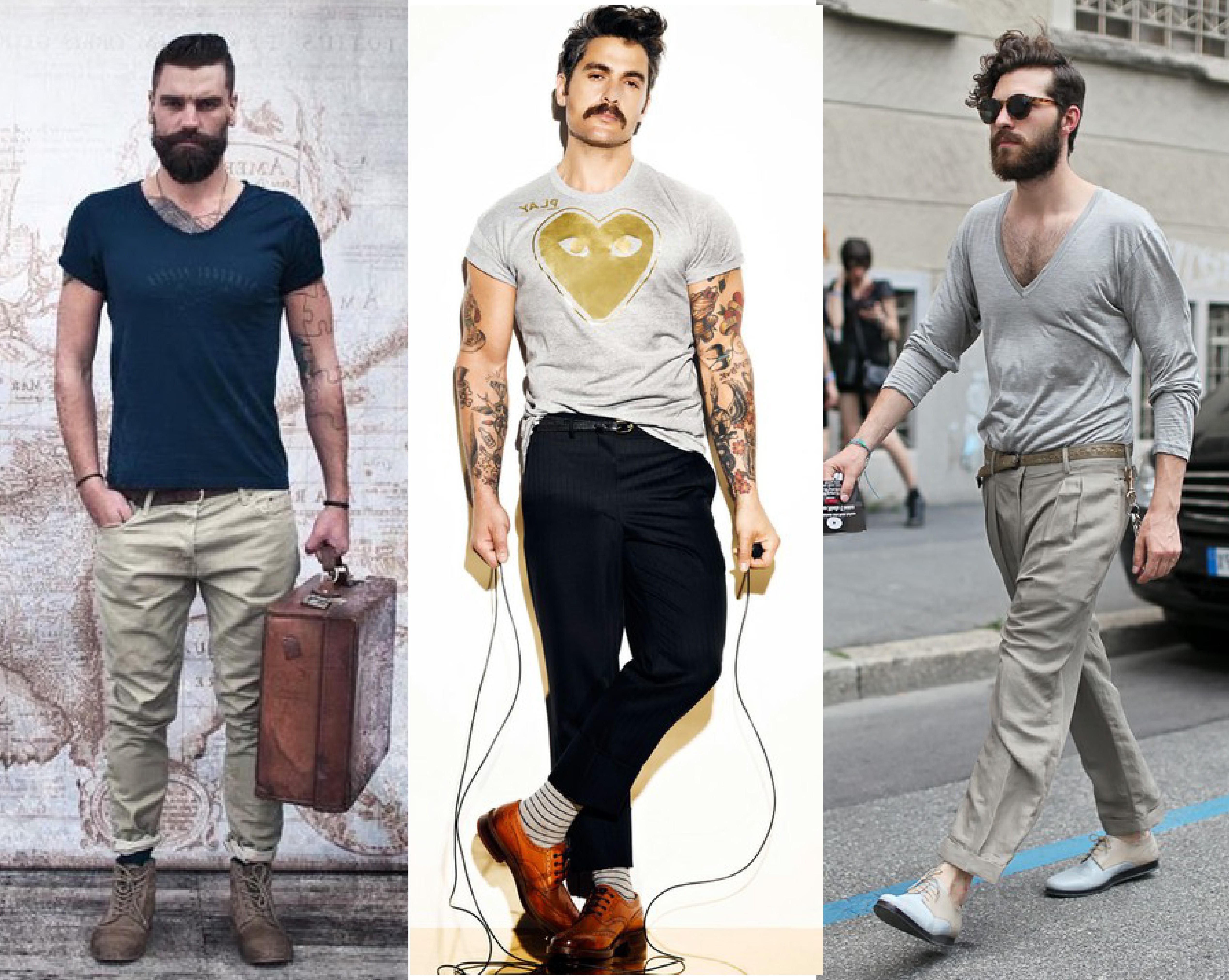 El estilo hipster para hombre