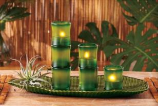 velas bambu peque