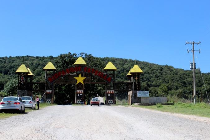 Rafa la jirafa. Bioparque estrella. Jilotepec. Mexico. Estado de Mexicov