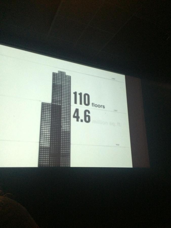 110 floors. Willis Tower. Chicago @JAStstyle