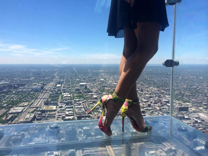 Steve Madden from the top of the Willis Tower. Chicago @JAStstyle