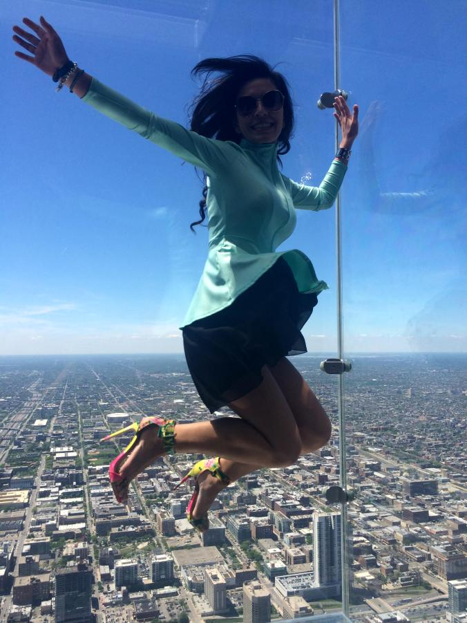 Jump on the top of the Willis Tower Chicago @JAStstyle