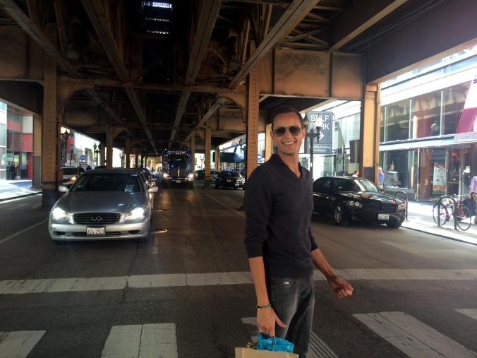 "Under the ""subway"". Chicago theatre. Trump Tower. Chicago @JAStstyle"
