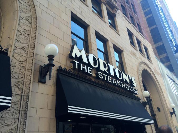 Morton's Chicago @JAStstyle