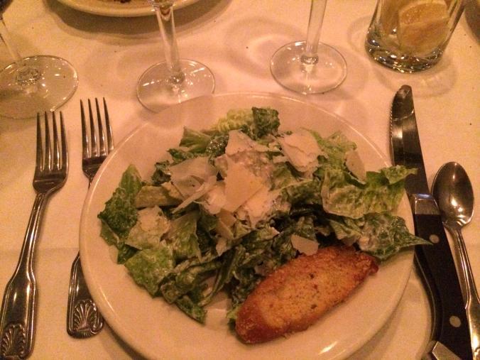 Cesar Salad. Morton's Chicago @JAStstyle