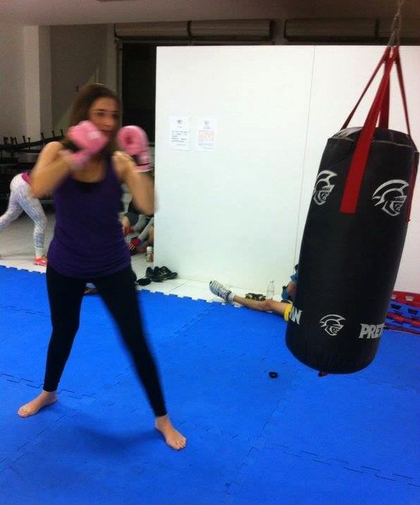 Treino de Artes Maciais - MMA