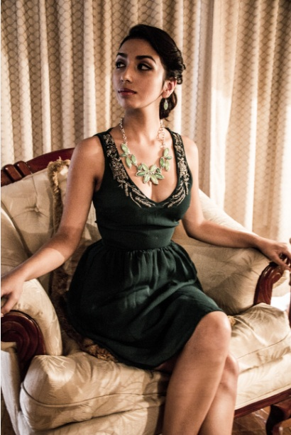 Youthfully classy. Green inspiration for autumn 2014.