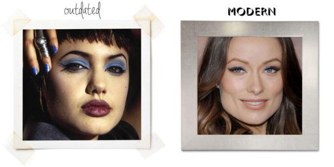 Errores de maquillaje: Sombras de colores