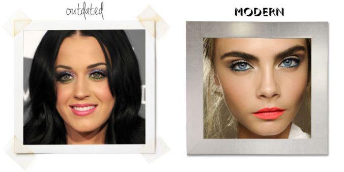 Errores de maquillaje: Demasiados colores