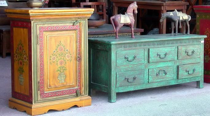 Tintar con anilinas cool anarchy - Muebles de madera pintados a mano ...
