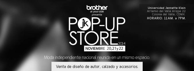 Pop Up Store-Universidad Jannette Klein