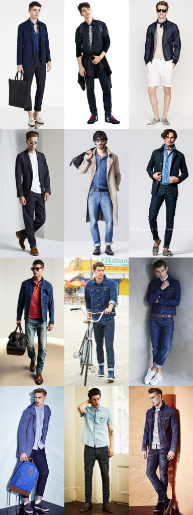 Denim Men Spring Summer 2015