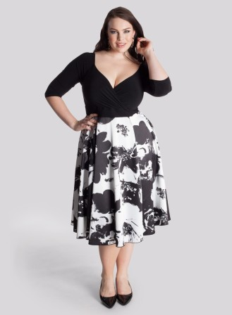 Flared Skirts - Plus Size