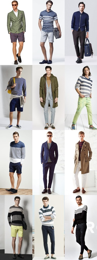 Stripes Men Spring Summer 2015