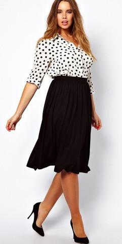 Midi Skirts - Plus Size